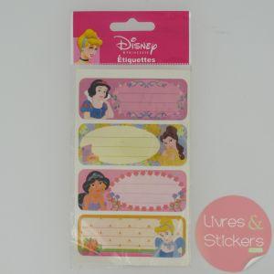 Etiquettes Disney Princesse 5/5