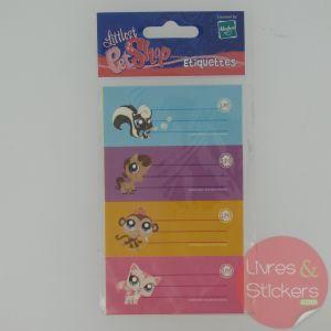 Etiquettes Littles PetShop