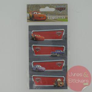 Etiquettes Cars
