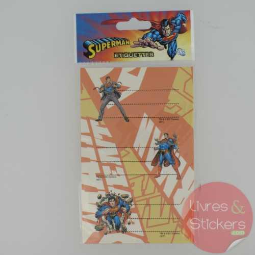 Etiquettes Superman 1/3