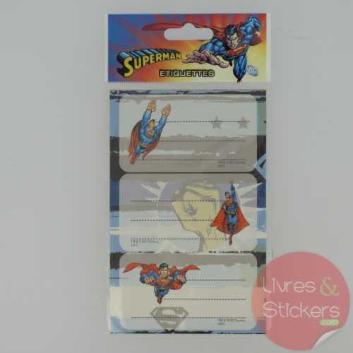 Etiquettes Superman 2/3