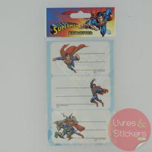 Etiquettes Superman 3/3