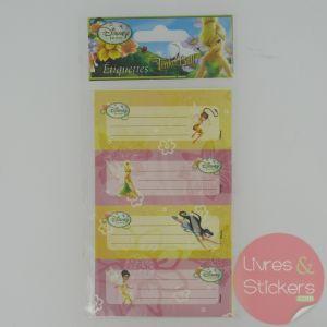 Etiquettes Disney Fairies Fée Clochette