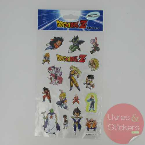 Stickers Silver DragonBallZ 1/4