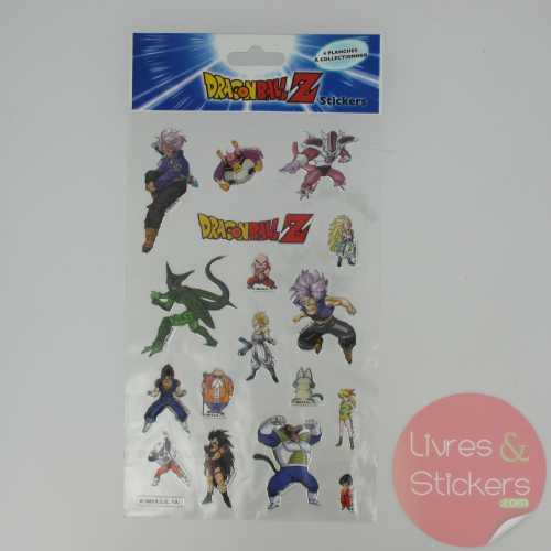 Stickers Silver DragonBallZ 2/4