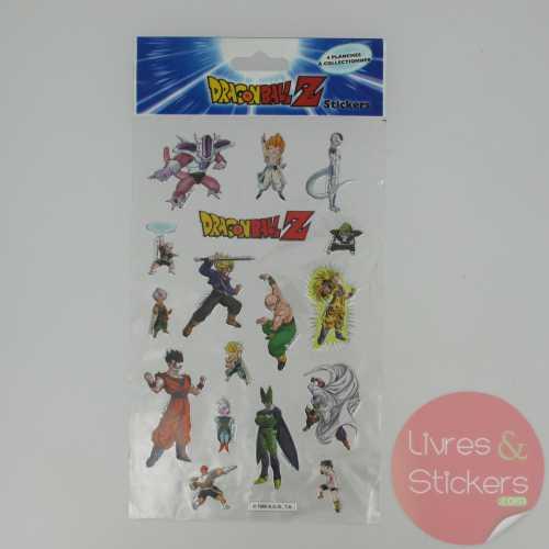 Stickers Silver DragonBallZ 3/4