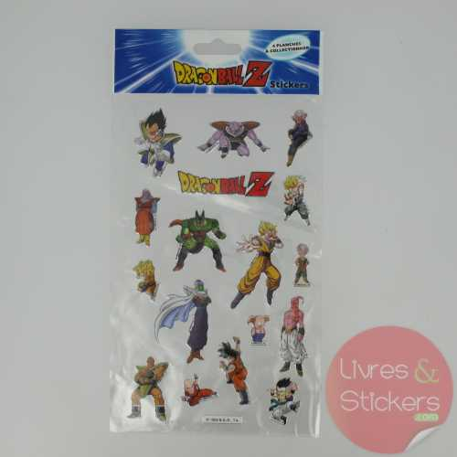 Stickers Silver DragonBallZ 4/4