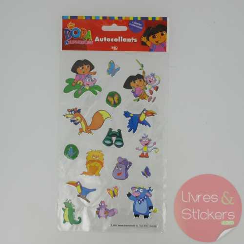 Stickers Silver Dora l'éxploratrice 1/4