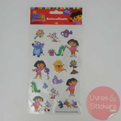 Stickers Silver Dora l'éxploratrice 4/4