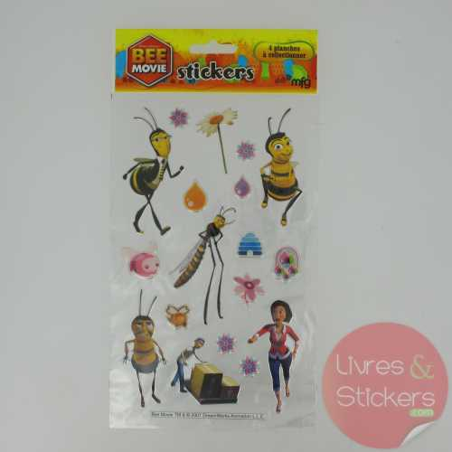 Stickers Silver Bee Movie 2/4