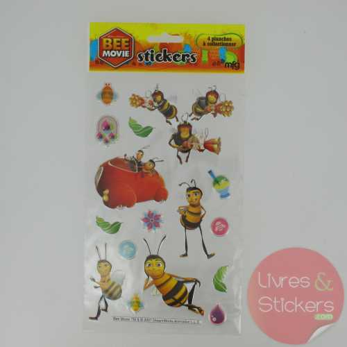 Stickers Silver Bee Movie 4/4