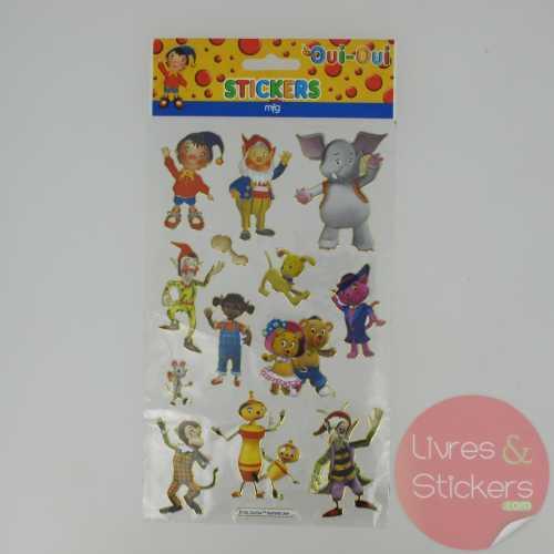 Stickers Gold Oui-Oui 1/4