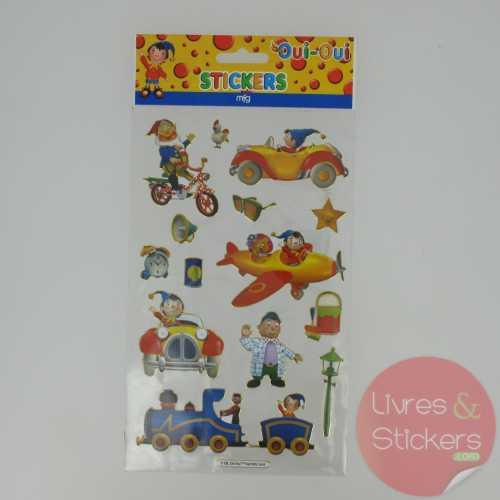 Stickers Gold Oui-Oui 2/4