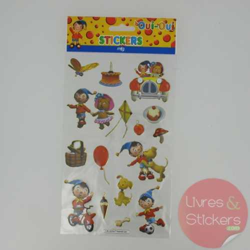 Stickers Gold Oui-Oui 4/4