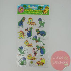 Stickers Silver Mireille l'abeille et ses amis 3/3