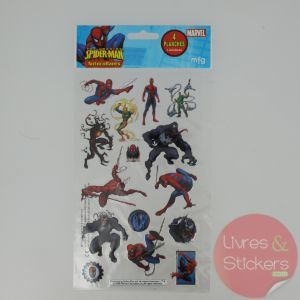 Stickers Silver The amazing Spider-Man 1/4