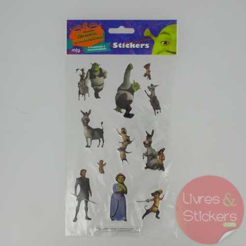 Stickers Silver Shrek le troisième 1/4