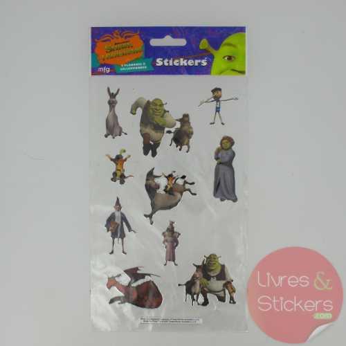 Stickers Silver Shrek le troisième 2/4