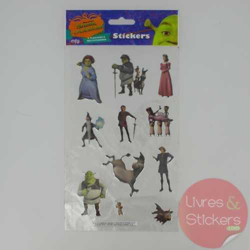 Stickers Silver Shrek le troisième 3/4