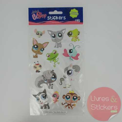 Stickers Silver Littlest PetShop 2/4