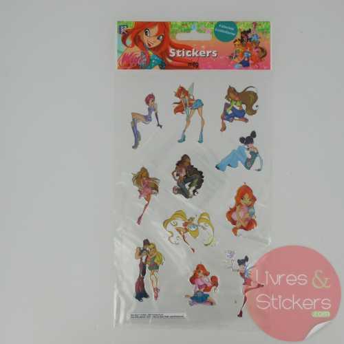 Stickers Silver Winx 1/4