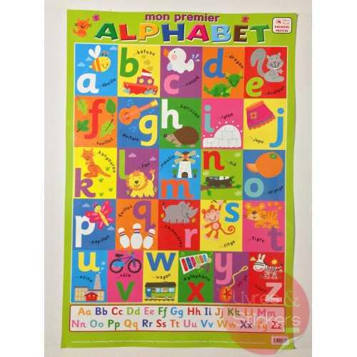 Posters éducatifs - Mon premier alphabet