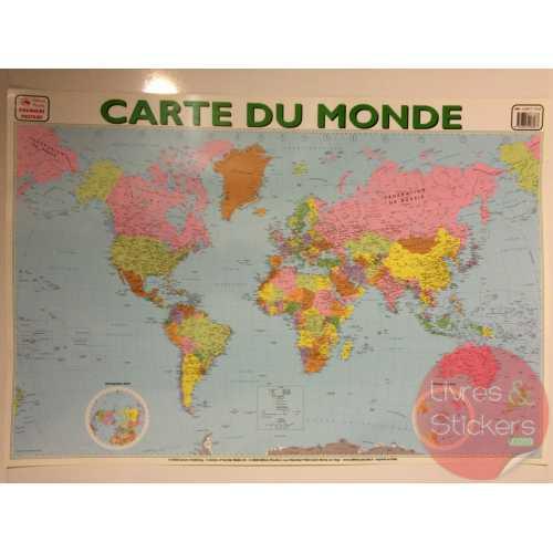 Posters éducatifs - Carte du monde