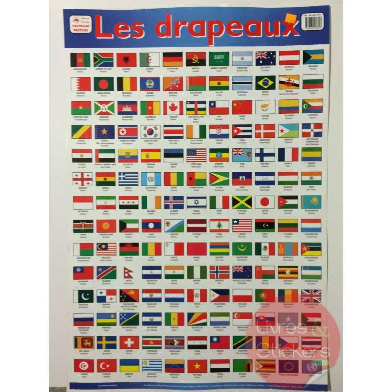 Poster Les drapeaux