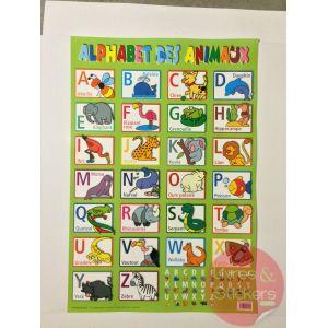 Poster alphabet des animaux