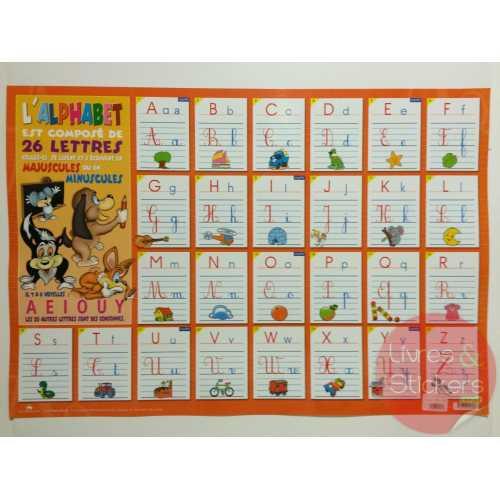 Posters éducatifs - L'alphabet