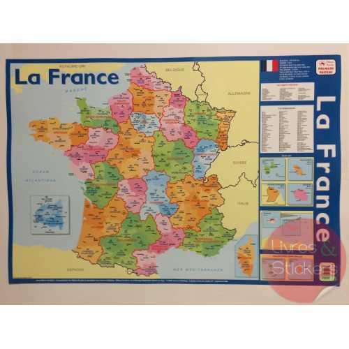 Posters éducatifs - La france