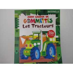 mon cahier gommettes tracteur