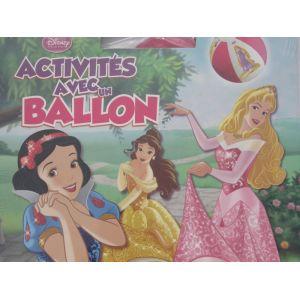 activités avec un ballon disney princesses