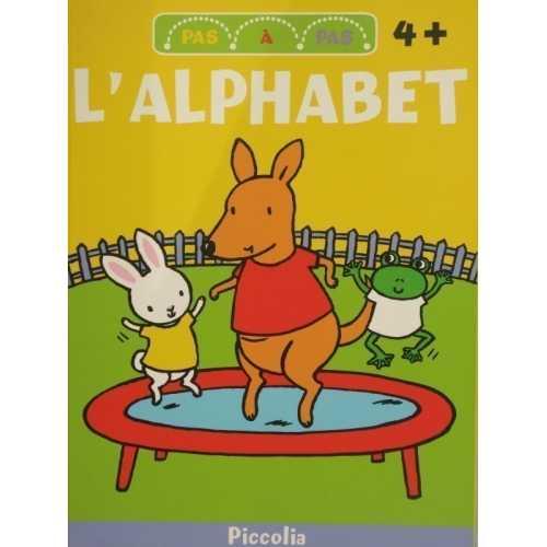 L'alphabet pas à pas 4 ans et plus
