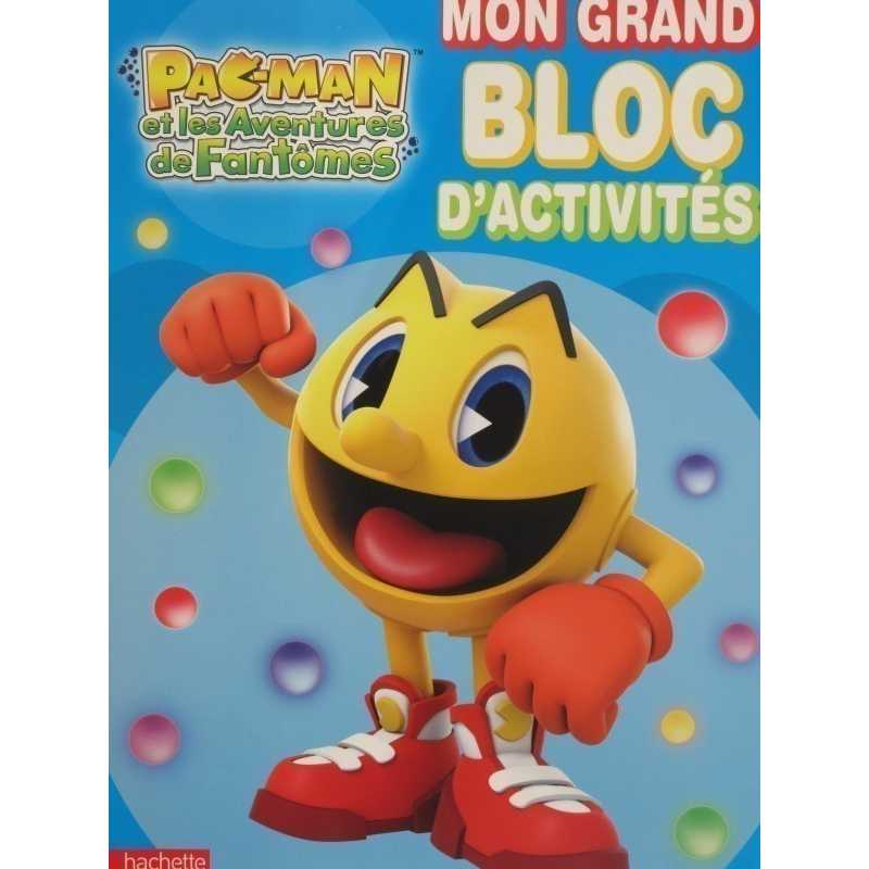 Mon grand bloc d'activités Pac-man et les aventures de Fantômes