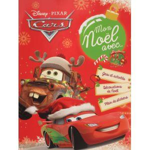 Mon noël avec cars.. Disney jeux activités décorations de noël et stickers