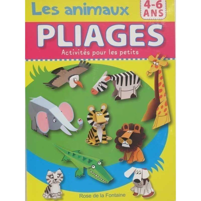 Les animaux PLIAGES activités pour les petits
