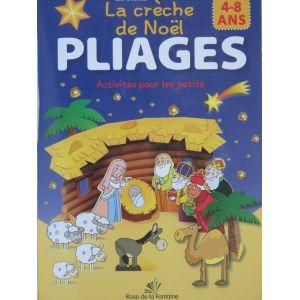 la crèche de Noël PLIAGES activités pour les petits