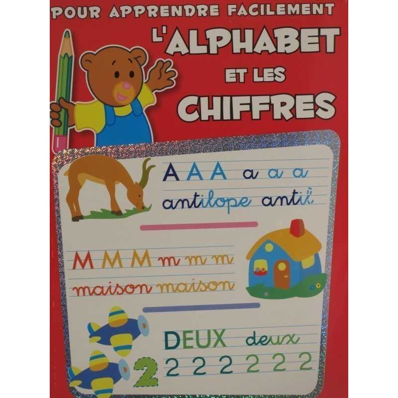 L'alphabet et les chiffres pour apprendre facilement