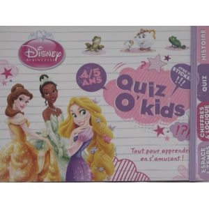 Quiz o'kids princesse disney