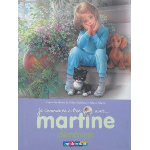 Martine je commence à lire... Déménage