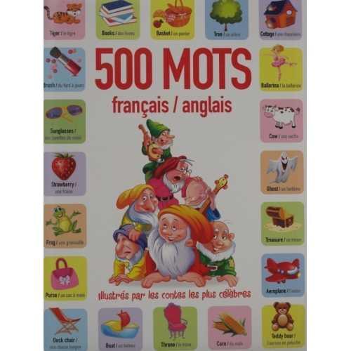 500 mots français anglais