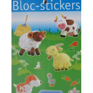 Bloc stickers + de 200 stickers La ferme