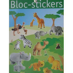 Bloc stickers + de 200 stickers La savane