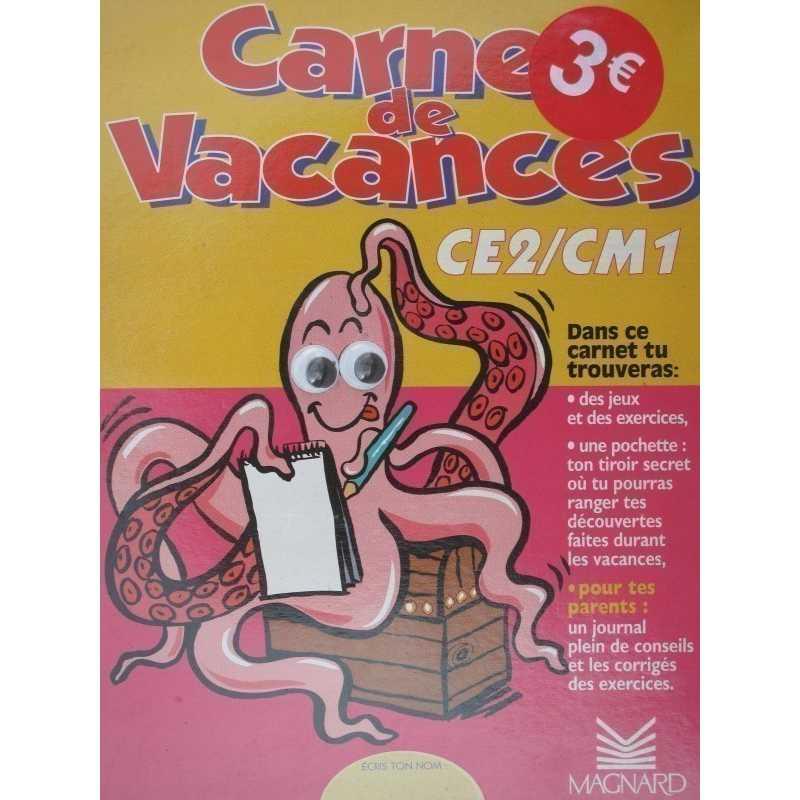 Carnet de vacances CE2 CM1