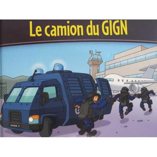 Le camion du GIGN