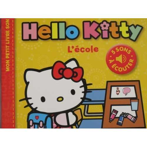 Hello kitty l'ecole 5 sons