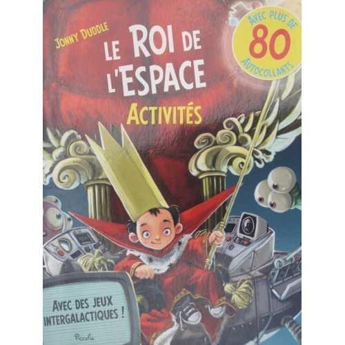 Le roi de l'espace Jonny Duddle avec 80 autocollants
