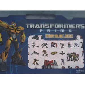 Transformers prime mon bloc de jeux