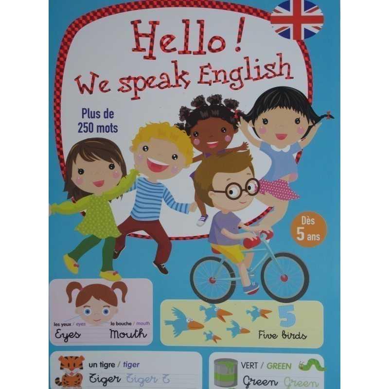 Hello we speak english dès 5 ans
